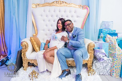 Kathy & Kingsley'd baby shower