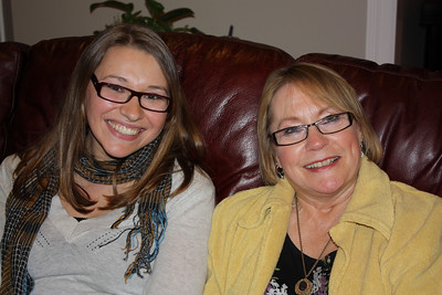 Kate and her mama Sonia