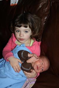 Katelynn and her new friend Xander