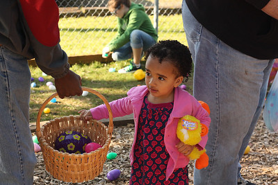 At the Edmonds Lutheran Easter Egg Hunt