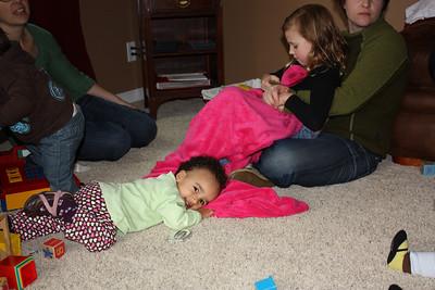 Nice Blanket Abby!