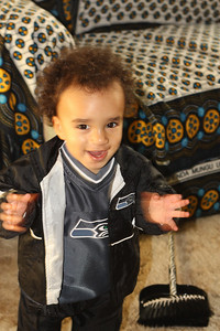 Ready to root for the Seahawks!