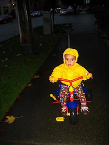 I love riding my trike!
