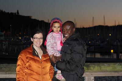 At the Ballard marina