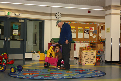 Playing with Babu at the Ravenna playroom