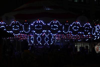 The Christmas Carousel in Westlake Center