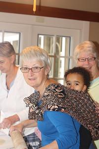 Making Lefse with bibi at the Olson Thanksgiving getaway