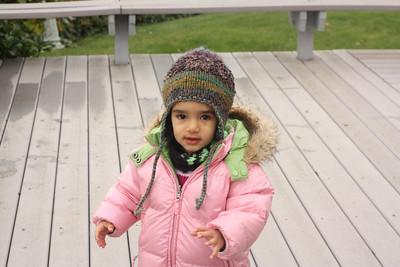 Esther bundled for winter weather
