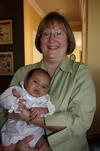 Liz meeting Esther
