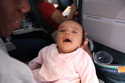 My first plane ride!