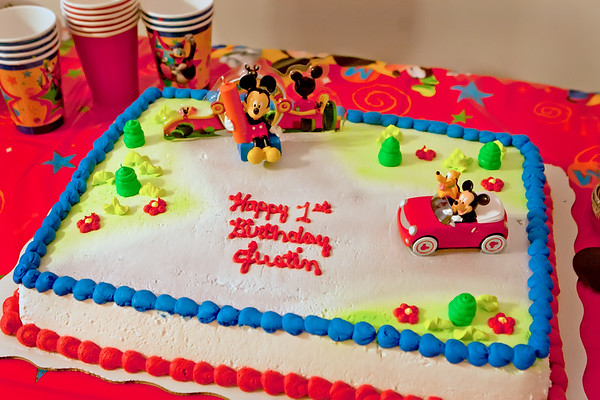 Baby Justin's 1st Birthday