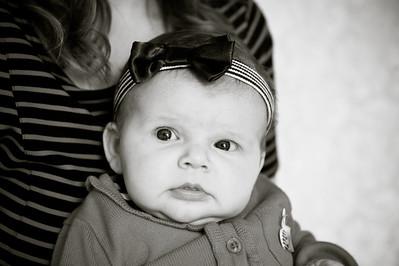 Lilah at 3 months