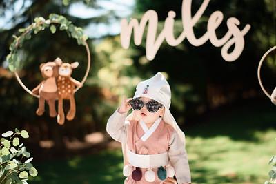 Miles 1st birthday