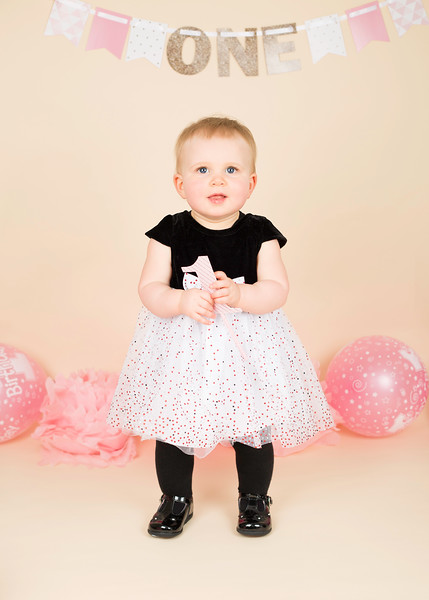 First birthday baby photography Paisley