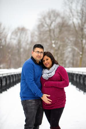 Manda & Ravi {maternity session}