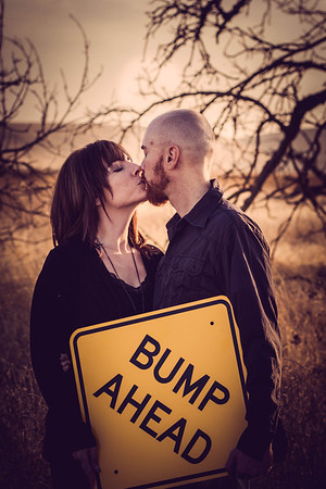 Amanda & Anthony Bump Ahead