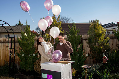 GENDER REVEAL-Heather & Caleb 12 21 13