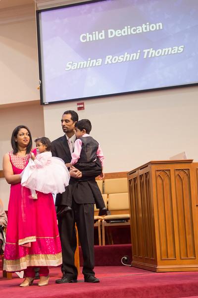 Samina Baby Dedication