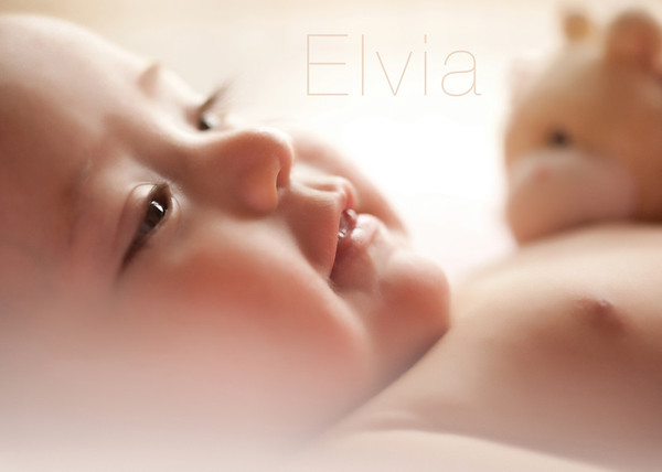 Elvia's Baby Session
