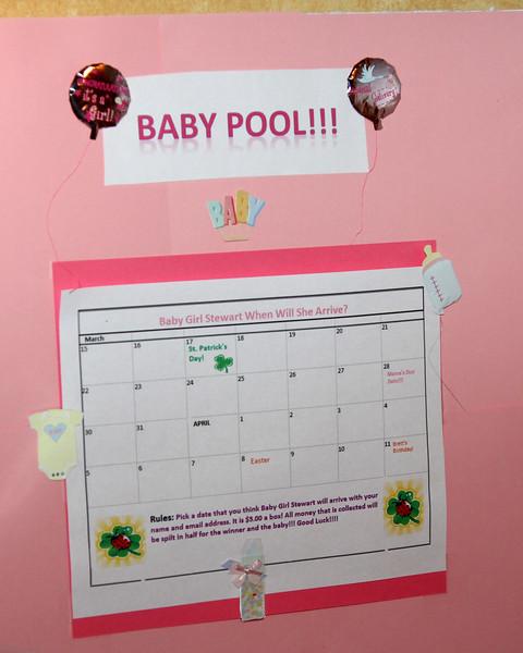 Val's baby shower February 18, 2012