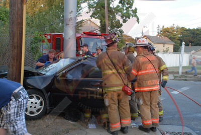 Babylon F.D. MVA w/ Entrapment Trolley Line Rd. and Little East Neck Rd. 8/6/10