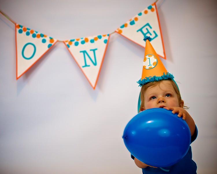 Finnegan is 1 year old