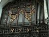 Organ inside 700 year old church