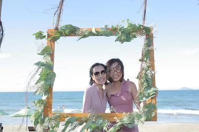 Bach & Jolie Wedding Photo Booth - Chụp hình in ảnh lấy liền Tiệc Cưới tại Đà Nẵng - Hội An