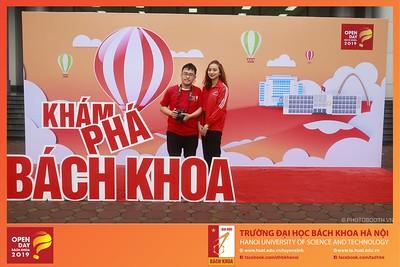 Bach Khoa Open Day 2019 Photobooth - Chụp hình in ảnh lấy ngay sự kiện Tư vấn & Tuyển sinh Hướng Nghiệp DHBK Hà Nội 2019
