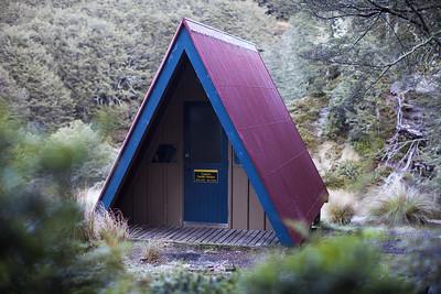 Lagoon Saddle Shelter, Craigieburn Forest Park