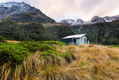 Blue Lake Hut, Sabine Valley, Nelson Lakes National Park