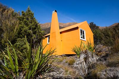 Top Wairoa Hut, Red Hills, Mount Richmond Forest Park