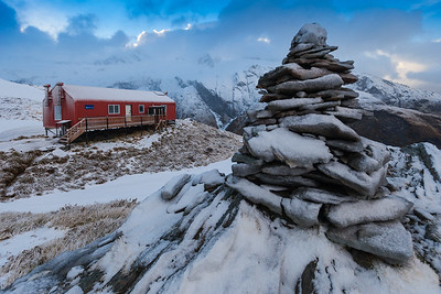 French Ridge Hut, Mount Aspiring National Park