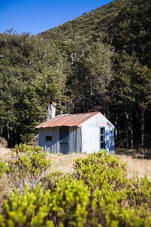 West Harper Hut, Craigieburn Forest Park
