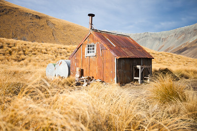 Camp Stream historic hut, Te Kahui Kaupeka Conservation Area
