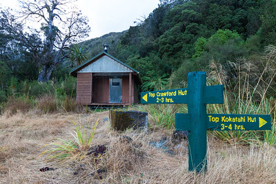 Crawford Junction Hut, Crawford Creek