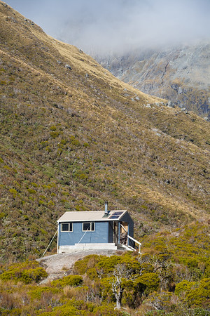 Bluff Hut, Hokitika Valley