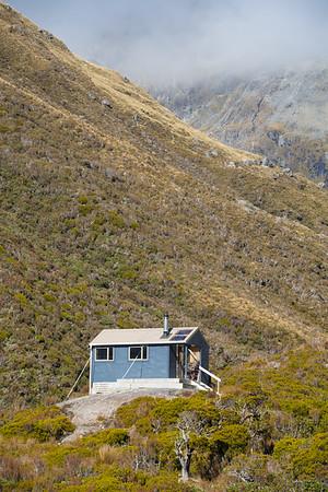 Bluff Hut, Hokitika Valley