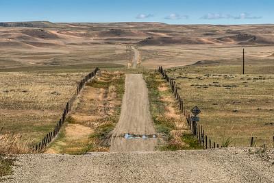 sourdough Road near Big Timber, Montana