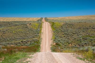 Sixteen Mile Road near Ringling, Montana