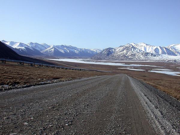 Dalton Highway & Alaska Pipeline<br /> Deadhorse, Alaska