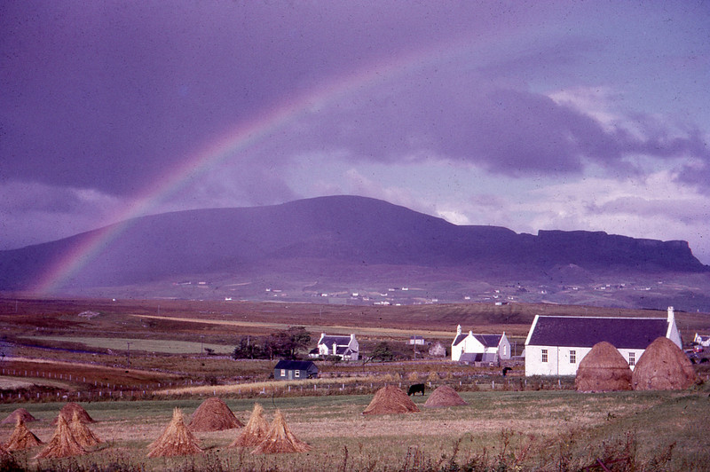 Staffin on the Isle of Skye Scotland 1966