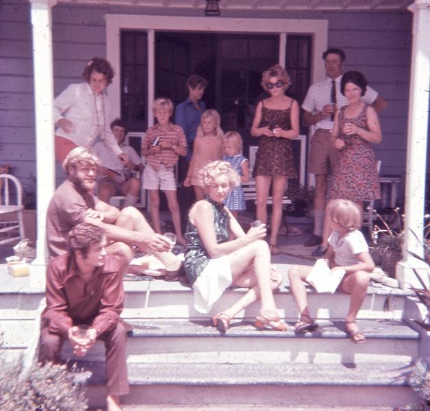Christmas Day Horoeka Gisborne 1970s (1)
