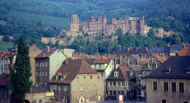Heidelberg Castle Germany 1966