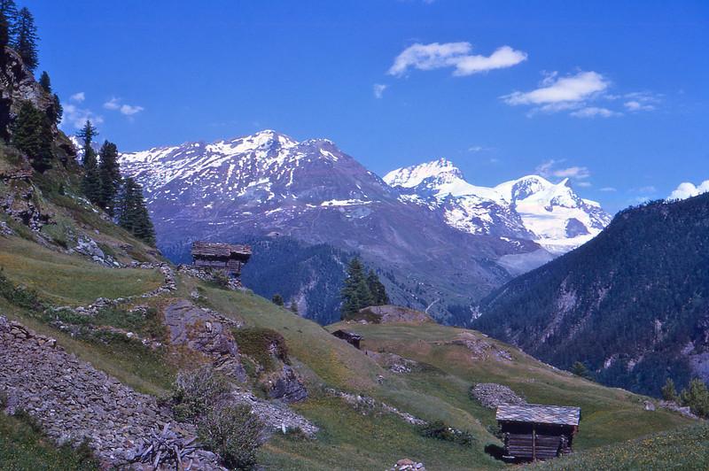 Vicinity of Matterhorn Zermatt Switzerland 1966