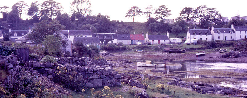 Plockton NW Highlands of Scotland 1966