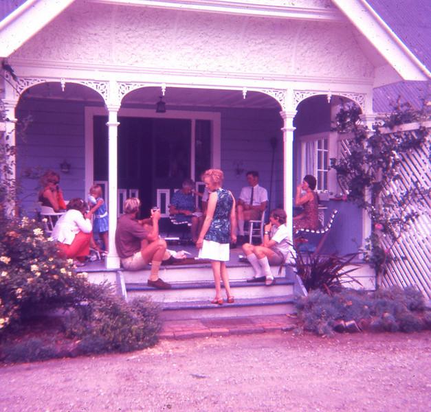 Christmas Day Horoeka Gisborne 1970s (2)