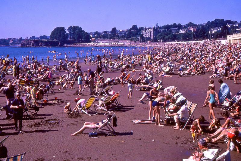 Abbey Sands Torquay UK Summer 1966