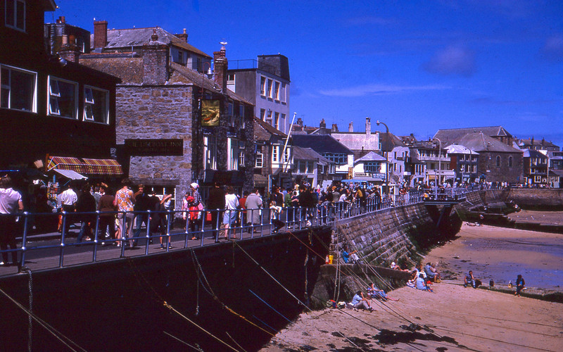 Lifeboat Inn St Ives Cornwall UK 1966<br /> <br /> Lifeboat Inn, Wharf Road, St Ives Cornwall 1966, taken by my Grandmother on her 1966 European Holiday.<br /> <br /> © Phyllis Marjorie Graham Collection