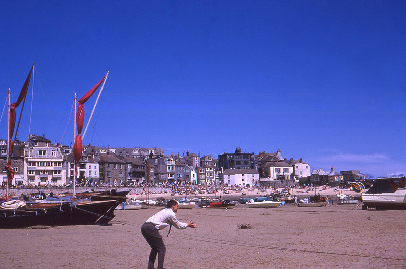 Tides Out St Ives Cornwall UK 1966